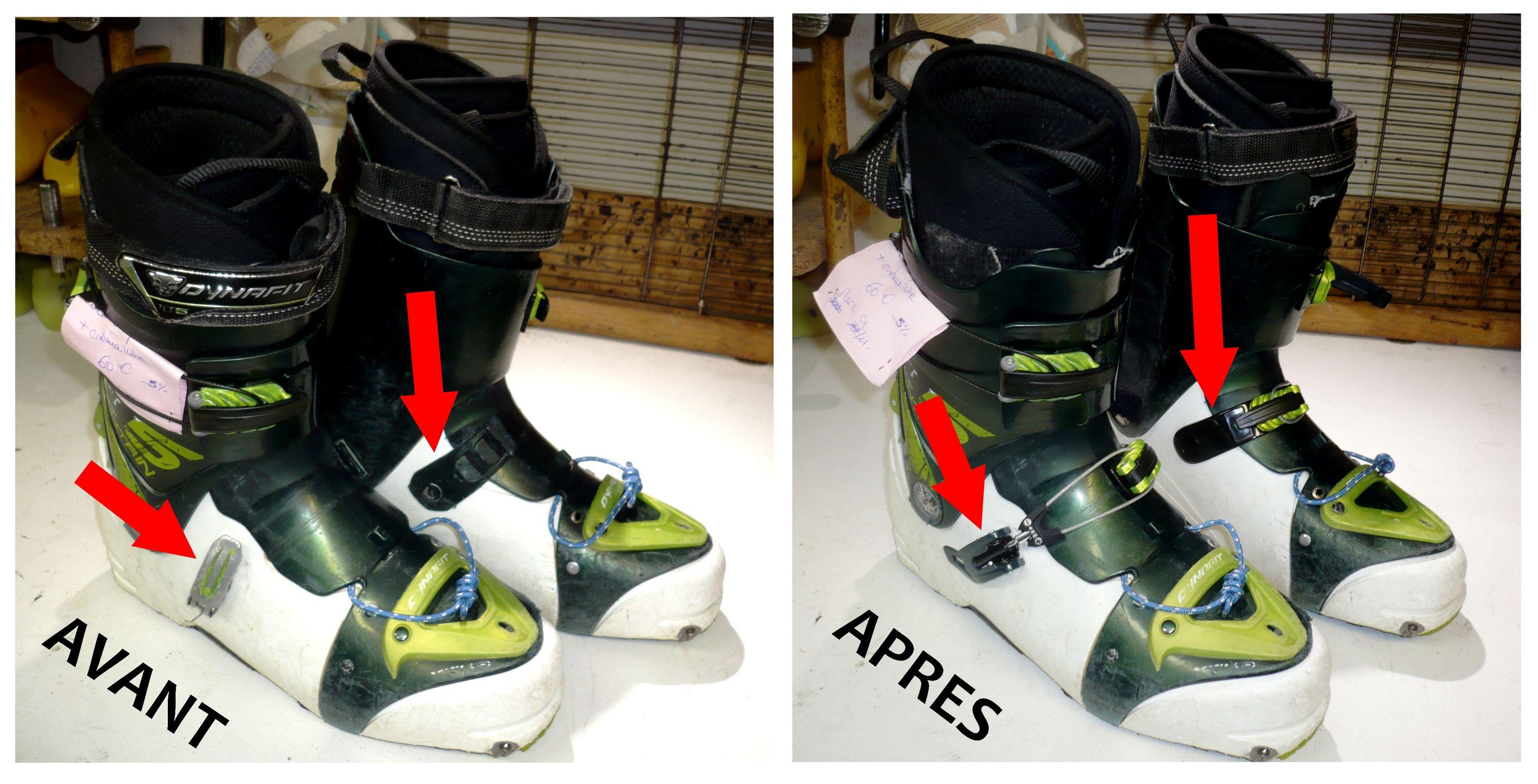 chaussures chaussons et Réparation de Montagne ski de Le ski Chausse v8n0Nmw