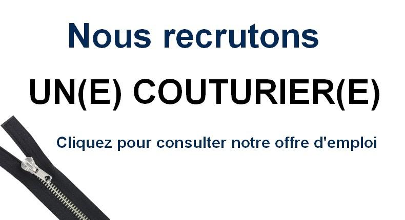Recrutement couturier(e)